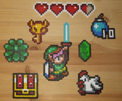 Perler Bead 3d Link Legend Of Zelda Youtube 10